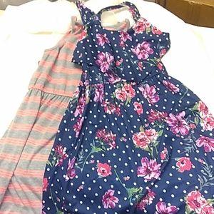 Pink & Violet 2 Pack Dress M 7/8